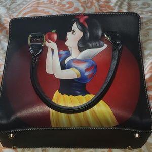 Snow white purse